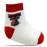 Texas Tech Red Raiders TopSox Baby Bootie