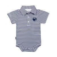 Garb Infant Striped Polo Onesie