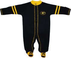 Creative Knitwear Infant Sports Shoe Footed Romper