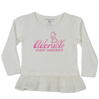 College Kids Vanilla Love Peplum