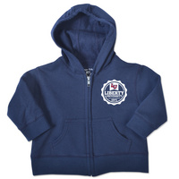 College Kids Infant Full Zip Flames Hoodie