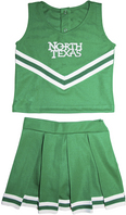Creative Knitwear Toddler Cheerleader Dress