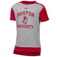 Under Armour Youth Charged Cotton Colorblock Tee