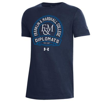 Under Armour Youth Performance Cotton Short Sleeve