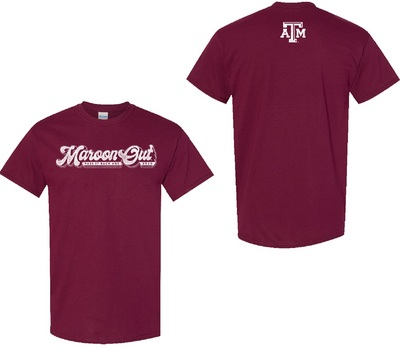 Maroon Out Youth Short Sleeve T Shirt