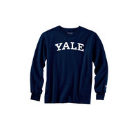 Yale Bulldogs Champion Youth Long Sleeve T-Shirt