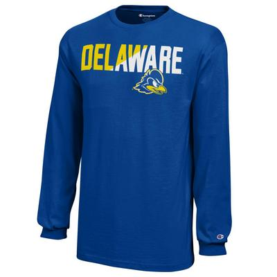 Delaware Blue Hens Champion Youth Long Sleeve T-Shirt