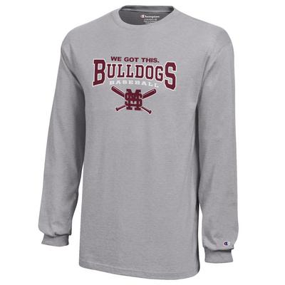 Mississippi State Bulldogs Champion Youth Long Sleeve TShirt