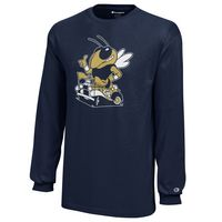 Georgia Tech Champion Youth Long Sleeve TShirt