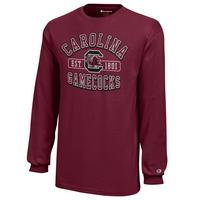 South Carolina Gamecocks Champion Youth Long Sleeve T-Shirt
