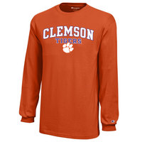 Clemson Tigers Champion Youth Long Sleeve TShirt