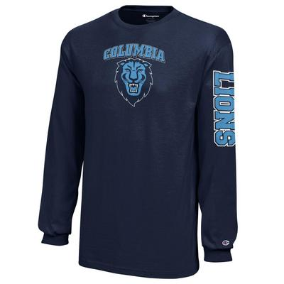 buy popular 08c37 594d0 Champion Youth Jersey Long Sleeve T Shirt | The Columbia ...
