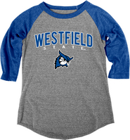 Blue 84 Triblend Baseball Tee