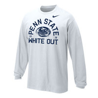 NikeWhite Out Youth Cotton Long Sleeve Tee