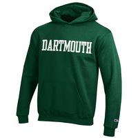 Champion Youth Dartmouth Big Green Hoodie