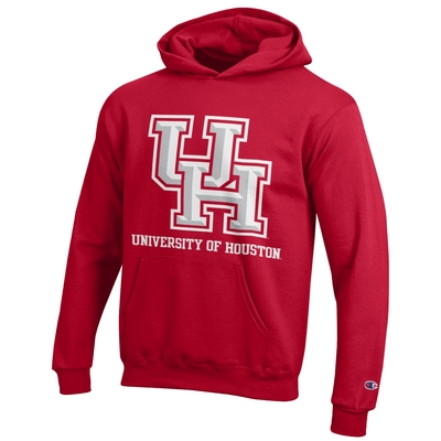 Houston Cougars Champion Youth Hoodie