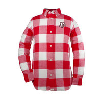 Garb Nicholas Youth Long Sleeve Button Down Flannel