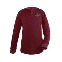 Garb Hunter Youth Long Sleeve Striped Henley