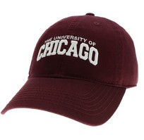 University of Chicago Legacy Youth Adjustable Washed Twill Hat