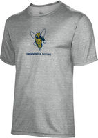 Spectrum Swimming & Diving Youth Unisex 5050 Distressed Short Sleeve Tee
