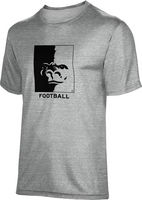 ProSphere Football Youth Unisex TriBlend Distressed Tee