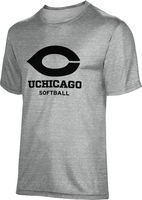 ProSphere Softball Youth Unisex TriBlend Distressed Tee