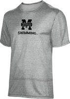 ProSphere Swimming Youth Unisex TriBlend Distressed Tee