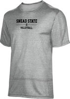 ProSphere Volleyball Youth Unisex TriBlend Distressed Tee