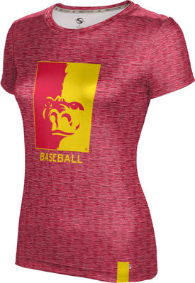 Baseball ProSphere Girls Sublimated Tee