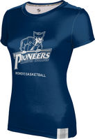 ProSphere Womens Basketball Youth Girls Short Sleeve Tee