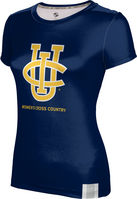 ProSphere Womens Cross Country Youth Girls Short Sleeve Tee
