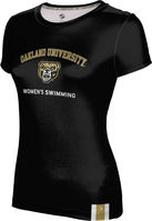 ProSphere Womens Swimming Youth Girls Short Sleeve Tee
