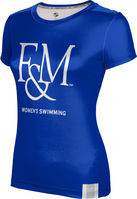 Womens Swimming ProSphere Girls Sublimated Tee