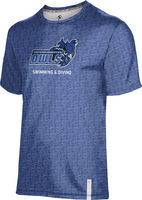 ProSphere Swimming & Diving Youth Unisex Short Sleeve Tee