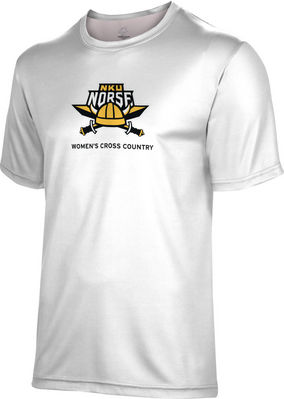 Womens Cross Country Spectrum Youth Short Sleeve Tee