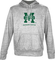Spectrum Swimming & Diving Youth Unisex Distressed Pullover Hoodie