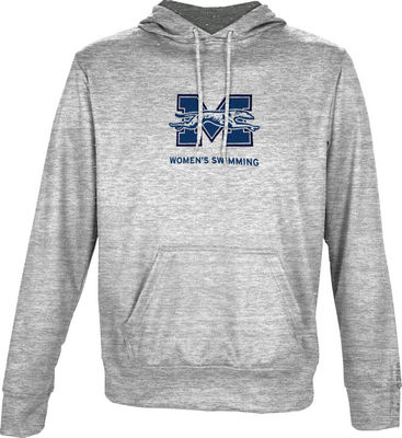 Womens Swimming Spectrum Youth Unisex Pullover Hoodie