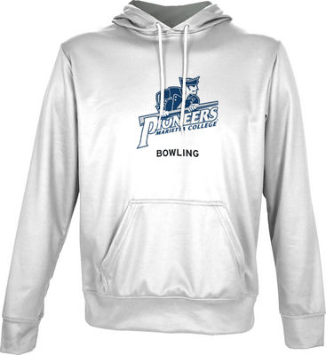 Spectrum Bowling Youth Unisex Distressed Pullover Hoodie