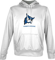 Spectrum Womens Lacrosse Youth Unisex Distressed Pullover Hoodie