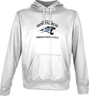 Spectrum Womens Track & Field Youth Unisex Distressed Pullover Hoodie