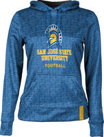 Football ProSphere Youth Girls Sublimated Hoodie