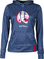 Softball ProSphere Youth Girls Sublimated Hoodie