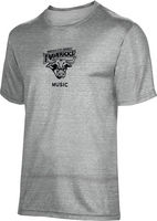 ProSphere Music Youth Unisex TriBlend Distressed Tee