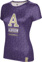Baseball ProSphere Girls Sublimated Tee (Online Only)