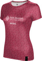 ProSphere Music Youth Girls Short Sleeve Tee