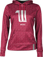 Music ProSphere Girls Sublimated Hoodie