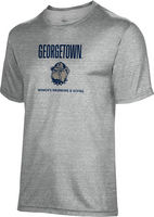 Spectrum Womens Swimming & Diving Youth Unisex 5050 Distressed Short Sleeve Tee