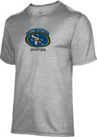Spectrum Youth Unisex Short Sleeve 5050 Distressed Tee   Aviation