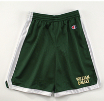 William and Mary Champion Youth Below The Knee Mesh Short