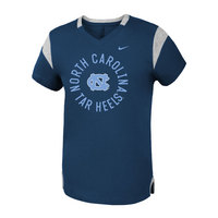 Fan V Short Sleeve Girls Youth Tee